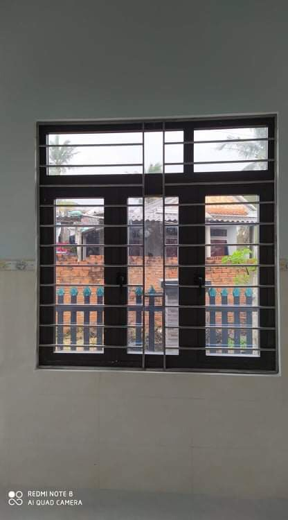 Mẫu cửa sổ nhôm PMA 3 cánh an toàn