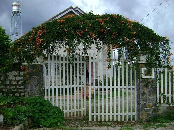 Thiết kế cổng nhà có kích thước hài hòa