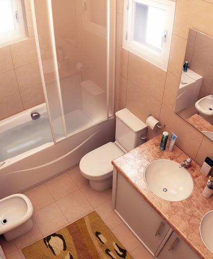 Phòng tắm nhỏ Dasha