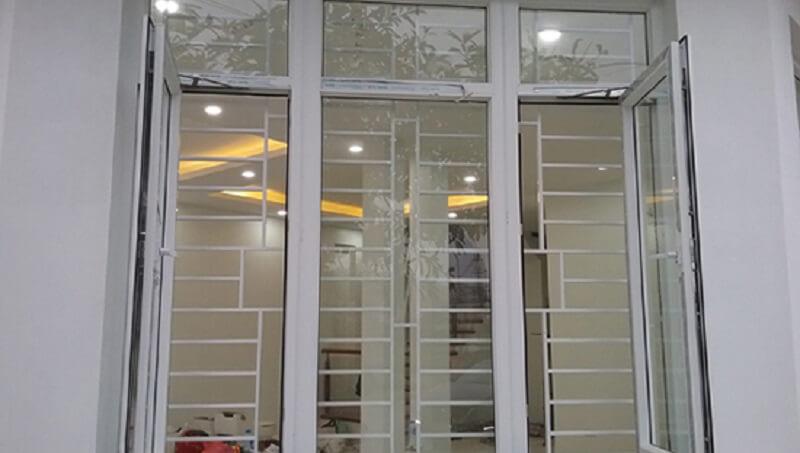 Mẫu khung bảo vệ cửa sổ inox đẹp 2020