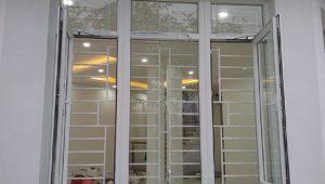 Khung cửa sổ bằng inox hiện đại