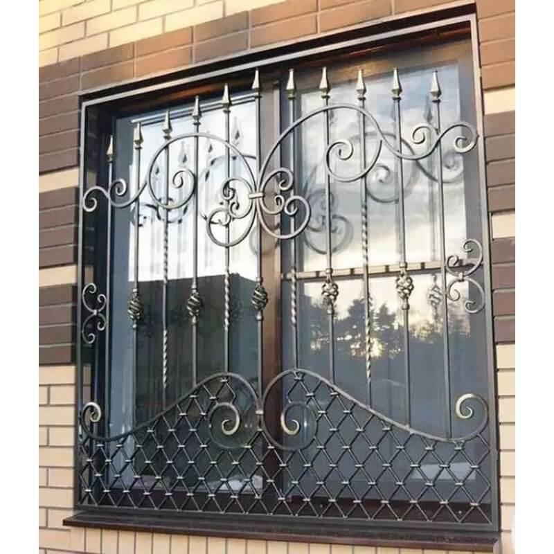 Mẫu khung bảo vệ cửa sổ inox đẹp cho nhà biệt thự
