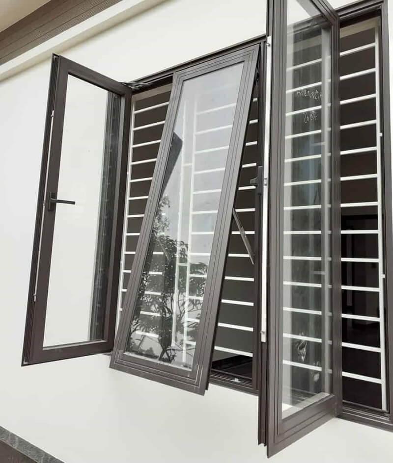 Mẫu khung bảo vệ cửa sổ lùa inox đẹp 2020