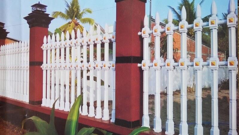Hàng rào bê tông ly tâm bền đẹp được ưa chuộng