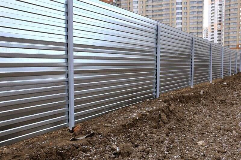 Hàng rào inox kín toàn bộ