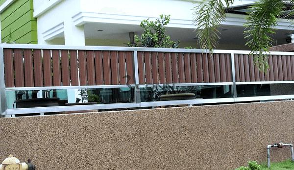 Thiết kế bộ hàng rào inox hợp phong thủy