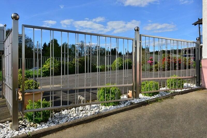 Bộ hàng rào toàn inox
