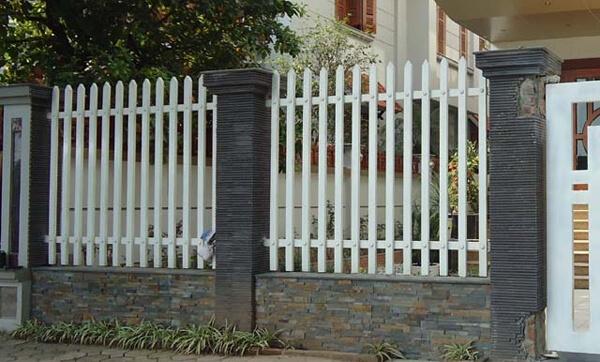 Mẫu hàng rào sắt cao kiên cố