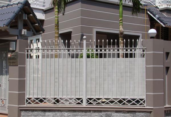 Mẫu hàng rào sắtchống trộm
