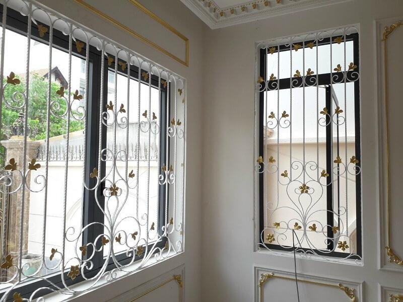 Mẫu khung bảo vệ cửa sổ nhà rộng