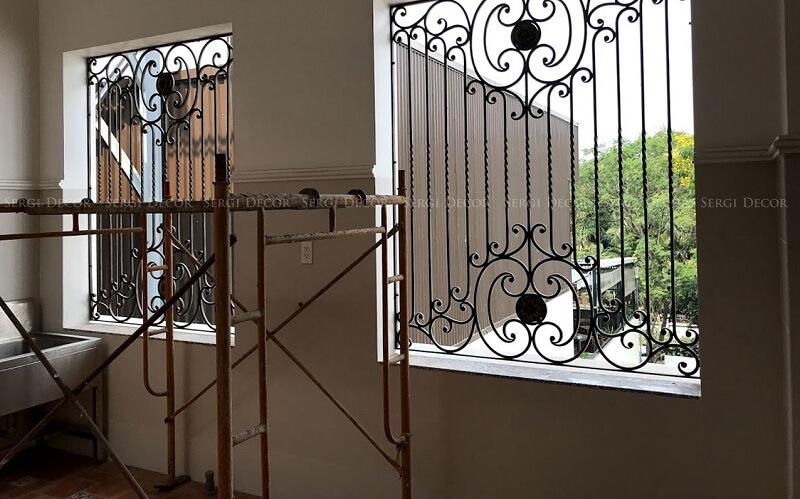 Thời gian hoàn thành nhanh là ưu điểm đầu tiên của khung bảo vệ cửa sổ sắt