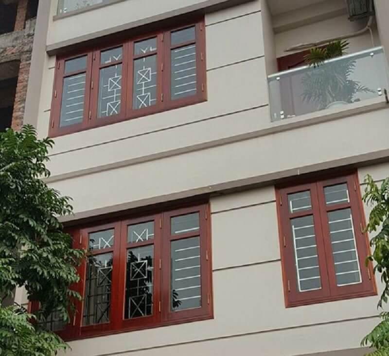 Mẫu khung cửa sổ bằng inox cho nhà biệt thự