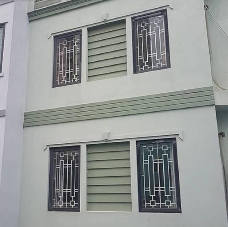 Mẫu khung cửa sổ bằng inox một cánh đơn giản