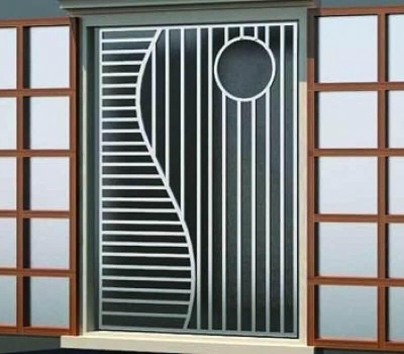 Mẫu khung cửa sổ bằng inox an toàn cho nhà gói