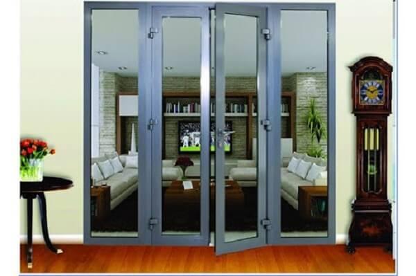 Cửa nhôm kính PMI 4 cánh đẳng cấp sang trọng cho nhà biệt thự