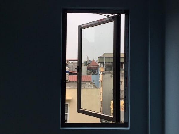 Cửa sổ nhôm kính PMI 1 cánh nhập khẩu chất lượng cao