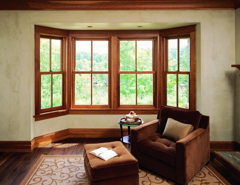 Mẫu khung bảo vệ cửa sổ gỗ thoáng mát