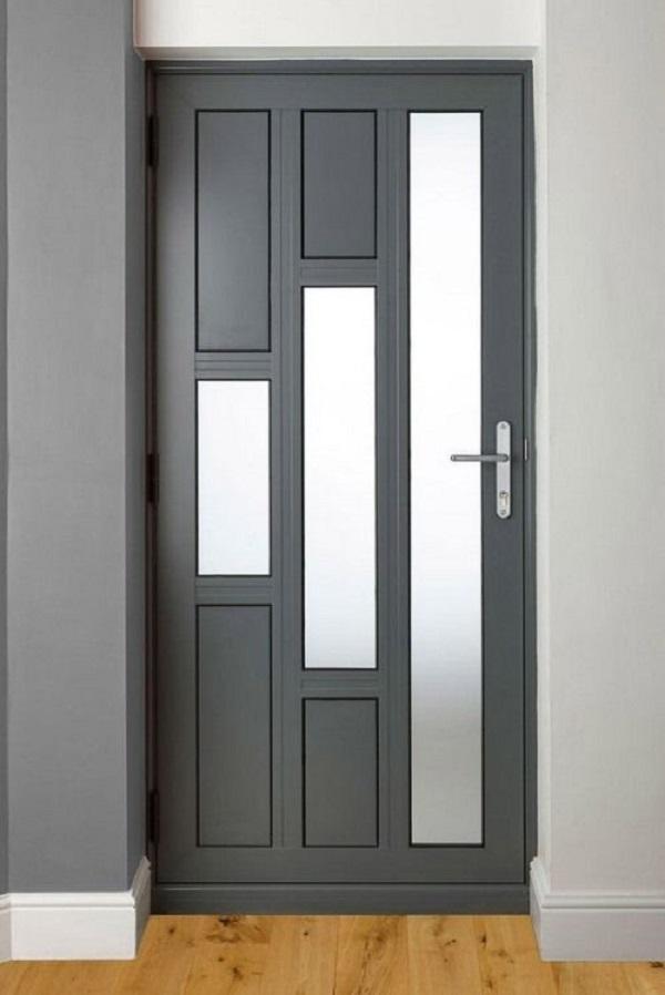 Mẫu cửa nhôm kính sang trọng cho phòng ngủ