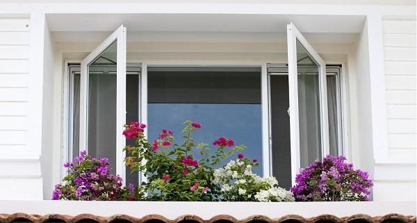 Mẫu cửa sổ nhôm kính chất lượng cao cho phòng ngủ