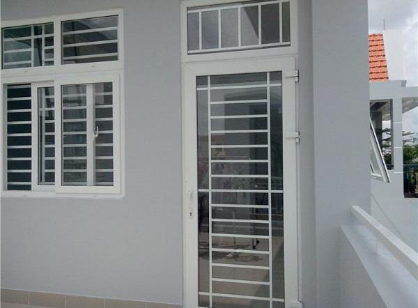 Cửa nhôm kính 1 cánh cho phòng ngủ chất lượng cao