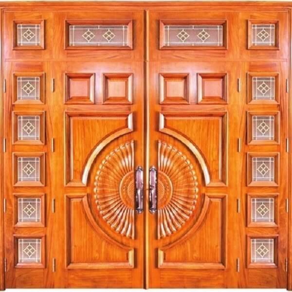 Bên cạnh các màu trầm ấm thì cửa nhôm giả gỗ cũng có những gam màu tươi sáng với kiểu sáng năng động cho những ai yêu thích và hướng tới màu sắc tươi sáng.