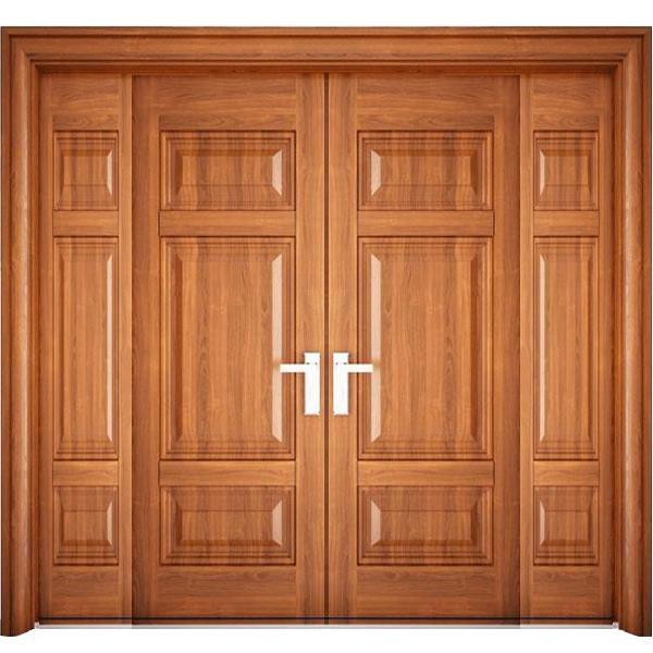 Mẫu cửa 2 cánh giả gỗ tay mở quay tiện lợi dễ thao tác, các màu sắc và họa tiết cũng cơ bản đem lại cho người nhà vẻ đẹp của sự tinh giản.