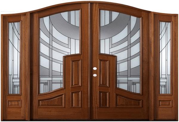 Phần kính của các loại cửa nhôm giả gỗ hiện nay cũng vô cùng đa dạng vói nhiều họa tiết điểm xuyến khác nhau tạo nên vẻ đẹp tinh tế hài hòa cho tổng thể ngôi nhà