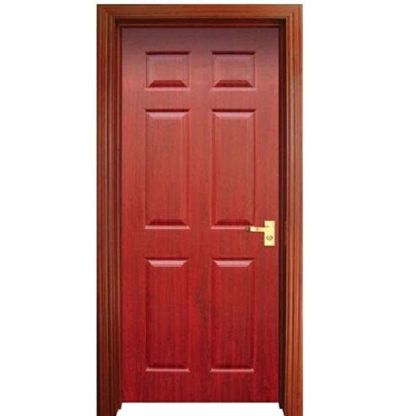 Gam màu nâu của mẫu cửa nhôm 1 cánh giả gỗ này có phần tươi sáng hơn giúp ngôi nhà bạn trở nên sinh động hơn