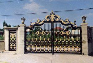Mẫu cổng biệt thự hiện đại cao cấp