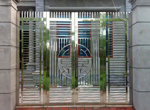 Cổng nhà cấp 4 inox