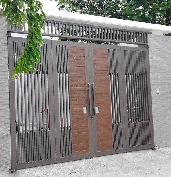 Cổng nhà phố hiện đại chất lượng cao