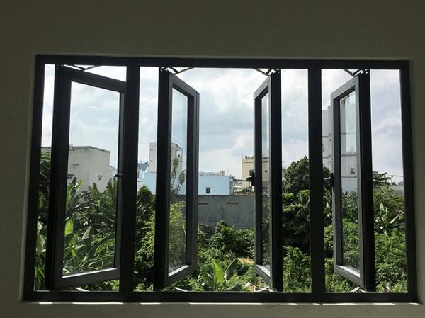 Cửa sổ nhôm pma 4 cánh thiết kế đẹp, độc đáo