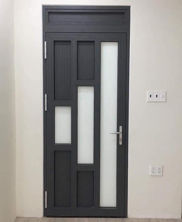 Mẫu cửa nhôm xingfa 1 cánh có thiết kế đẹp, độc đáo