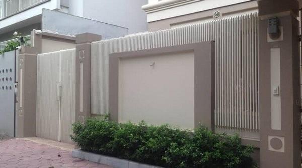 Mẫu tường rào thiết kế cổ điển, trang trọng