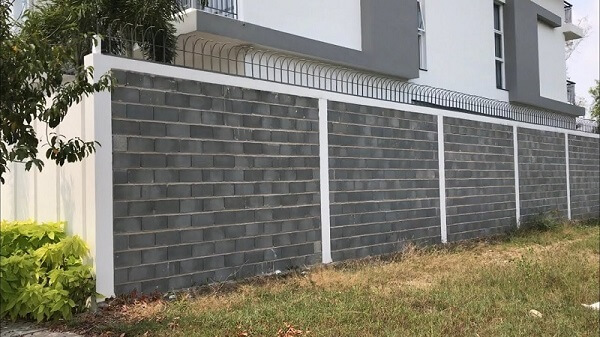 Mẫu tường rào kín đáo an toàn