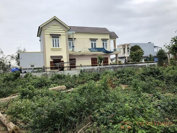 Toàn cảnh dự án thi công hàng rào tại xã Tịnh Kỳ