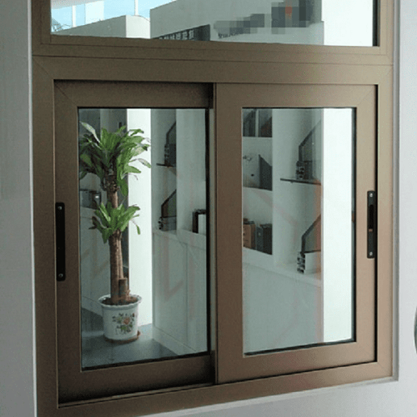 Mẫu cửa sổ nhôm Xingfa màu ghi cực kì thu hút và lạ mắt. Mẫu cửa mở lùa thao tác mượt và cực kì chắc chắn