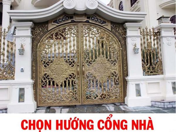 Chọn hướng cổng nhà
