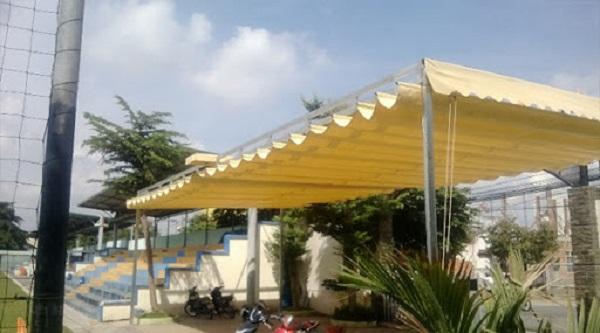 Mái che nắng cho nhà xe thoáng mát, chống nắng hiệu quả