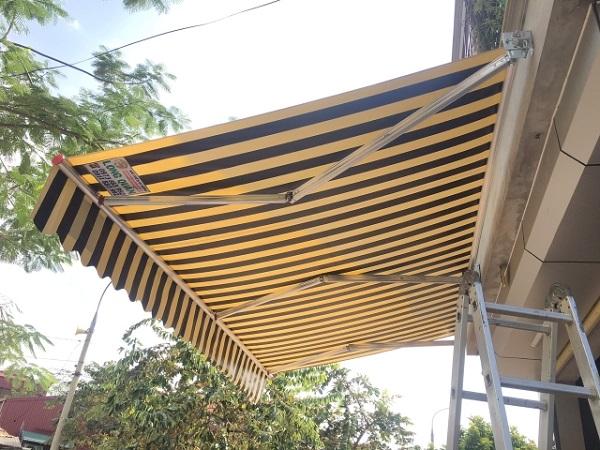 Mái che nắng hiên nhà thoáng mát, chất lượng cao