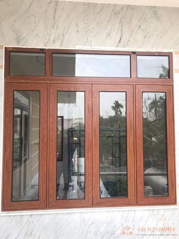 Mẫu cửa sổ nhôm xingfa 4 cánh bền bỉ