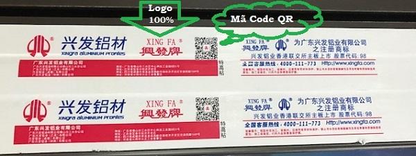 Cách để nhận biết nhôm Xingfa Quảng Đông là check mã QR. Với một vài thao tác nhanh chóng là bạn đã có thể kiểm tra nguồn gôc xuất xứ của sản phẩm
