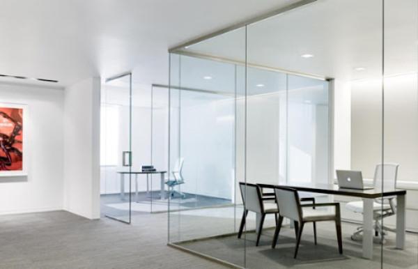Vách kính văn phòng cho phòng phỏng vấn