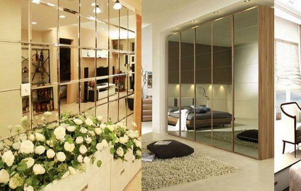 Vách ngăn nhôm kính phòng ngủ toát lên vẻ sang trọng