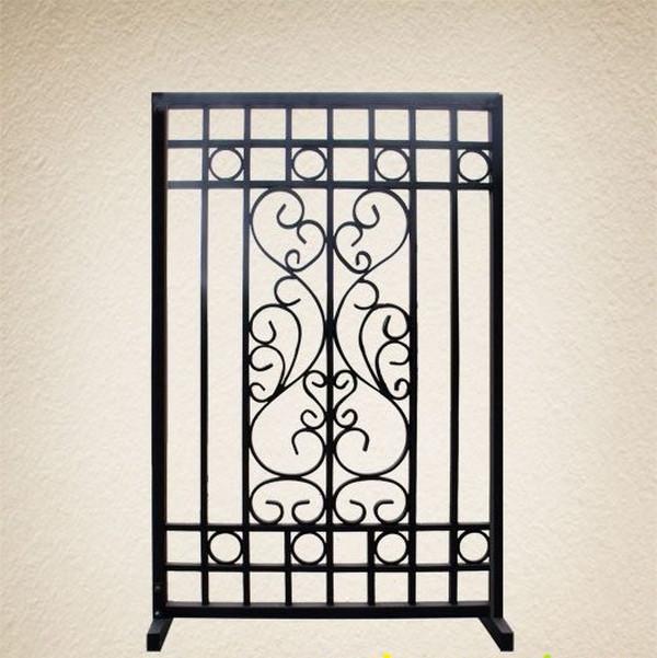 Mẫu bông bảo vệ cửa sổ bằng sắt đẹp 3