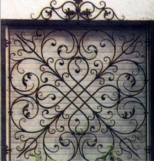 Mẫu bông bảo vệ cửa sổ bằng sắt đẹp 6