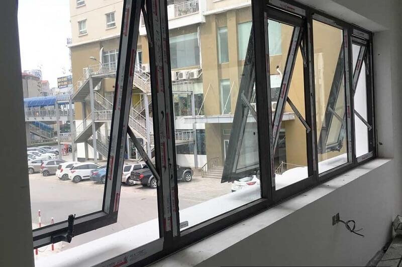 Thiết kế cánh cửa sổ hất