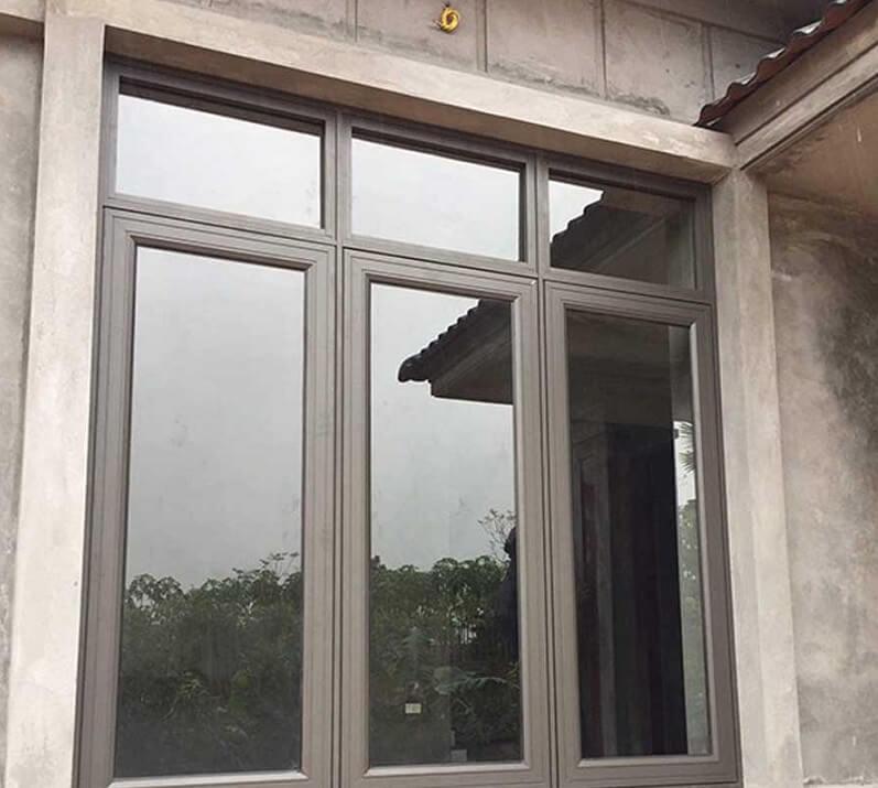 Cửa sổ nhôm xingfa 3 cánh hiện đại