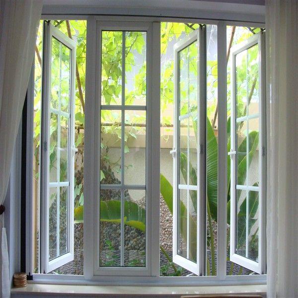 Cửa sổ nhôm Xingfa 4 cánh mở quay hiện đại, trang nhã