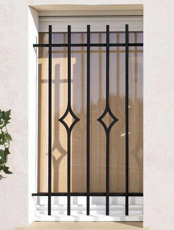 Mẫu cửa sổ đơn giản nhưng không kém phần tinh tế
